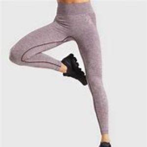Gymshark Flex Leggings in Berry/Rose